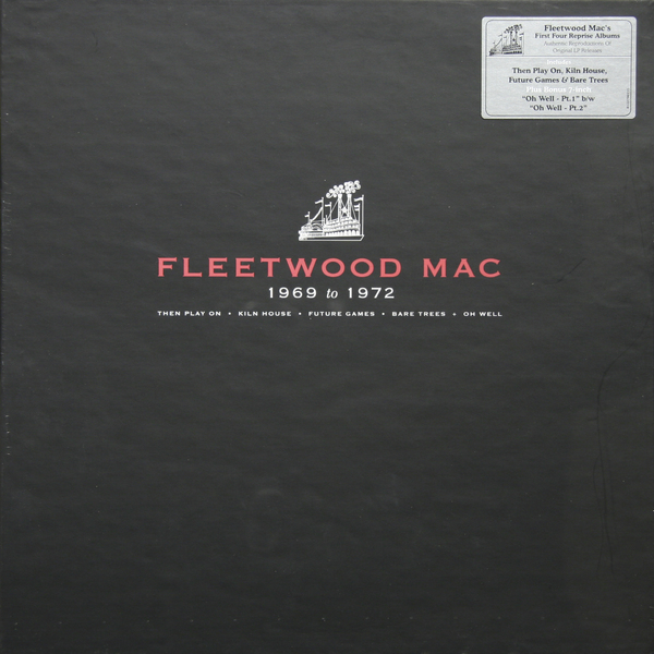 Fleetwood Mac Fleetwood Mac - Fleetwood Mac 1969-1972 (box Set) fleetwood mac fleetwood mac tango in the night 180 gr