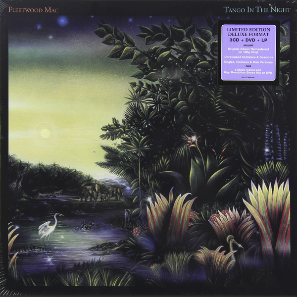 Fleetwood Mac Fleetwood Mac - Tango In The Night (3 Cd + Dvd + LP) fleetwood mac – rumours lp