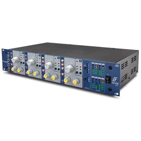 Микрофонный предусилитель FocusriteМикрофонный предусилитель<br>4-канальный микрофонный предусилитель<br>