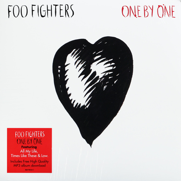 FOO FIGHTERS FOO FIGHTERS - ONE BY ONE (2 LP)