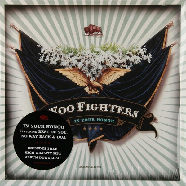 Foo Fighters Foo Fighters - In Your Honor (2 LP) foo fighters foo fighters skin