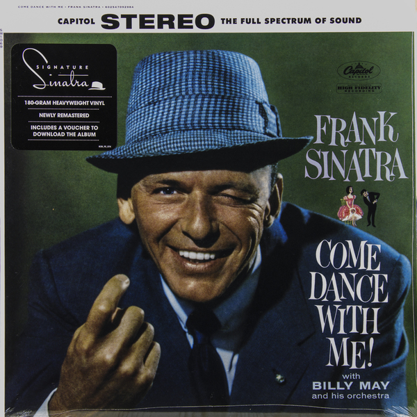 FRANK SINATRA FRANK SINATRA - COME DANCE WITH ME (180 GR)