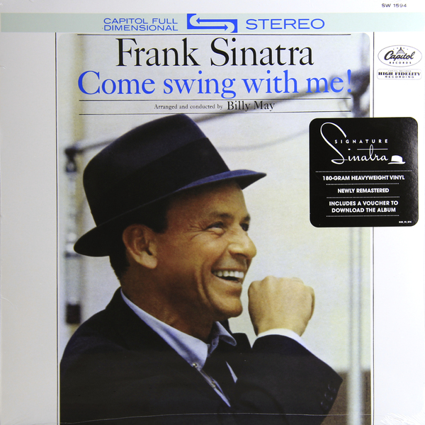 FRANK SINATRA FRANK SINATRA - COME SWING WITH ME! (180 GR)