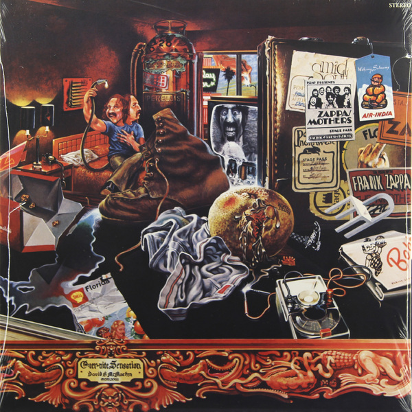 Frank Zappa Frank Zappa - Overnite Sensation (180 Gr) guano apes guano apes proud like a god 180 gr colour