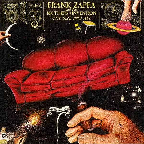 FRANK ZAPPA FRANK ZAPPA - ONE SIZE FITS ALL frank zappa gold record signature series ltd edition display