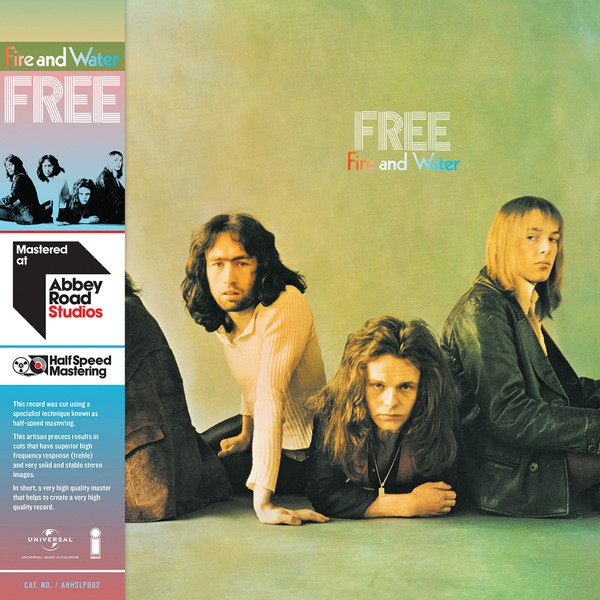 FREE FREE - Fire And Water (half Speed Vinyl)