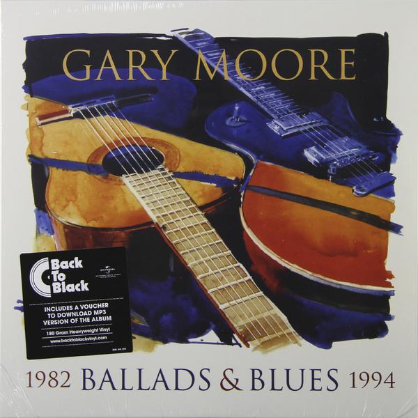 GARY MOORE GARY MOORE - BALLADS   BLUES 1982-1994 (180 GR) gary clark jr