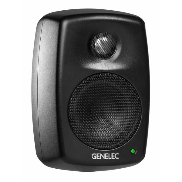 Активная полочная акустика Genelec 4010AM Black  полочная акустика genelec 8020cpm