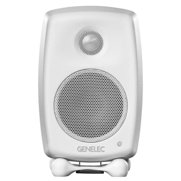 Активная полочная акустика Genelec G One White  полочная акустика genelec 8020cpm