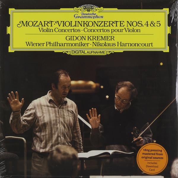 все цены на Mozart MozartGidon Kremer - : Violin Concertos 4, 5