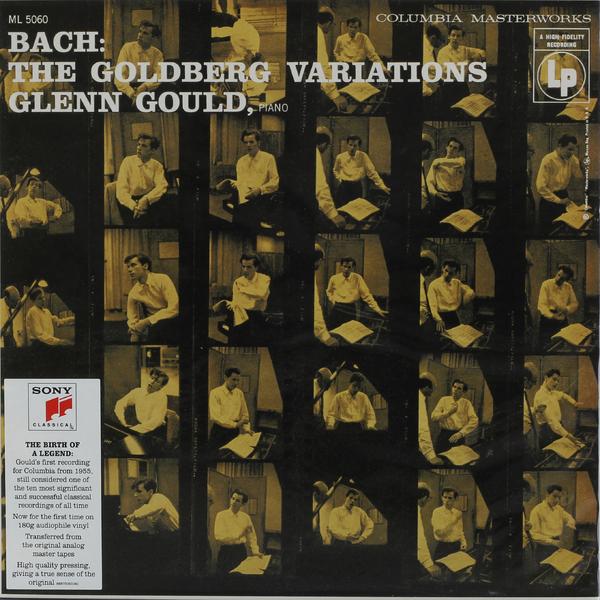 цены Glenn Gould Glenn Gould - Goldberg Variations, Bwv 988 (1955 Recording) (180 Gr)