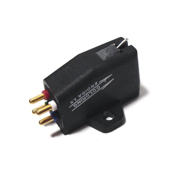 Головка звукоснимателя GoldringГоловка звукоснимателя<br>Головка звукоснимателя МС, частотный диапазон: 20 Гц - 22 кГц, выходное напряжение 0,5 мВ, прижимная сила 1,5 - 2 г, вес: 5.5 г<br>