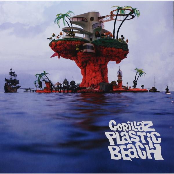 Gorillaz Gorillaz - Plastic Beach (2 LP) festival bue día 2 gorillaz