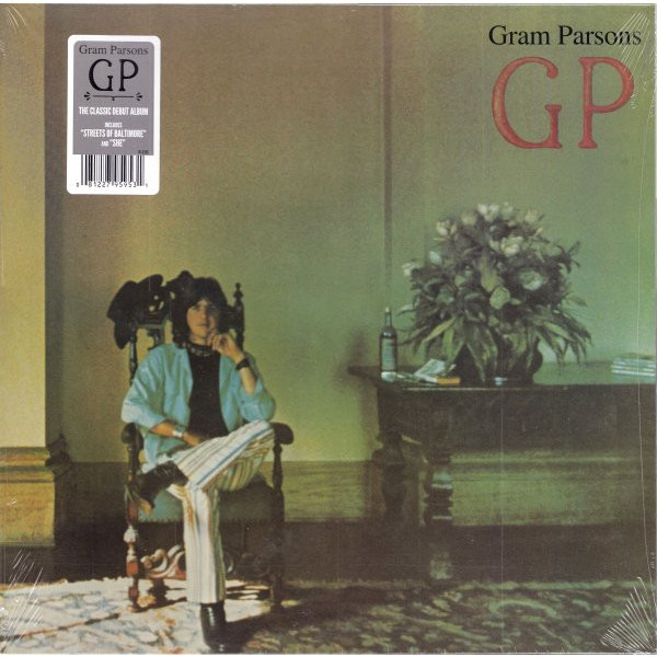 Gram Parsons Gram Parsons - Gp (180 Gr) виниловые пластинки death cab for cutie kintsugi 2lp cd 180 gram