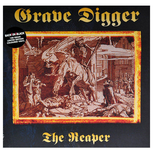 Grave Digger Grave Digger - Reaper (2 Lp, 180 Gr, Colour) reaper man