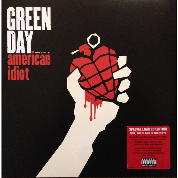 GREEN DAY GREEN DAY - AMERICAN IDIOT (2 LP, COLOUR)