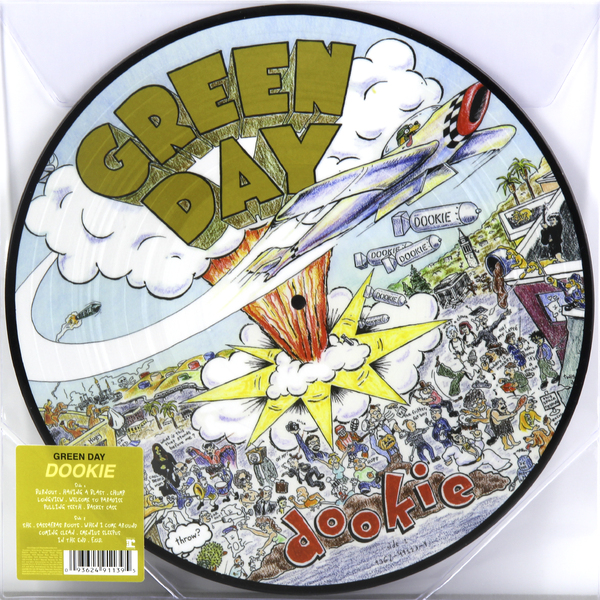 GREEN DAY GREEN DAY - DOOKIE (PICTURE DISC) виниловая пластинка green day dookie 1lp