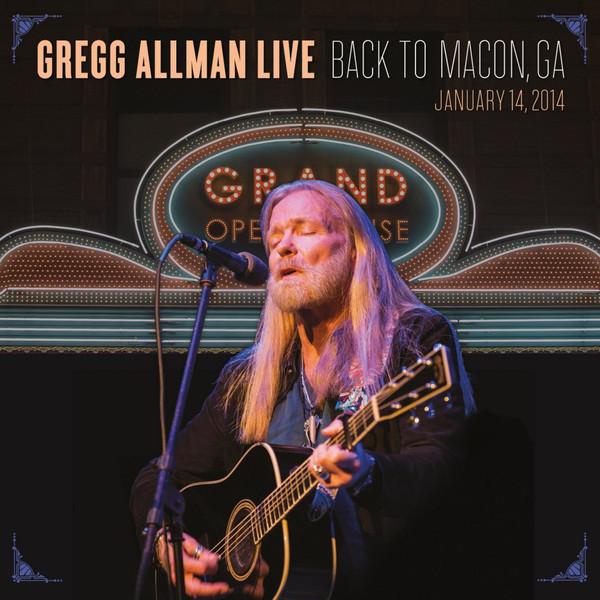Gregg Allman Gregg Allman - Live: Back To Macon, Ga (2 LP) allman brothers band allman brothers band win lose or draw