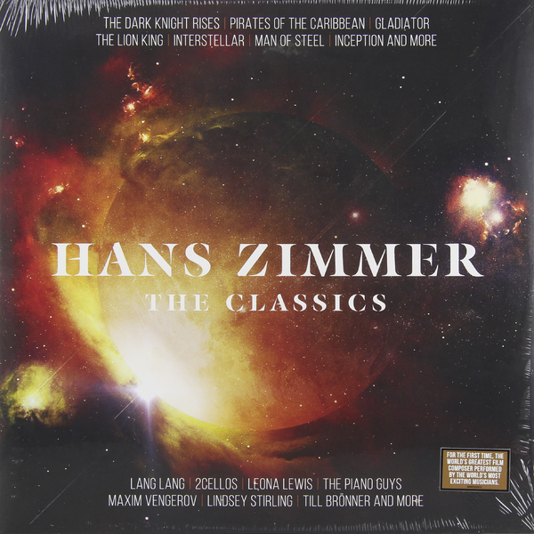 Hans Zimmer Hans Zimmer - The Classics (2 LP) the black keys the black keys el camino 2 lp