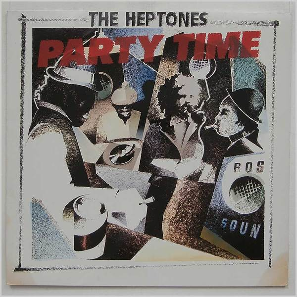 HEPTONES HEPTONES - PARTY TIME тостер ariete 186 party time red