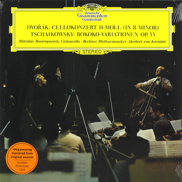 Herbert Von Karajan Herbert Von Karajan - Dvorak   Tchaikovsky: Cello Concerto   Rococo Variations bruckner herbert von karajan symphonies 8