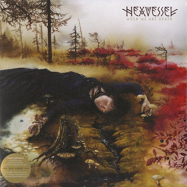 Hexvessel Hexvessel - When We Are Death (lp+cd) when you re strange cd