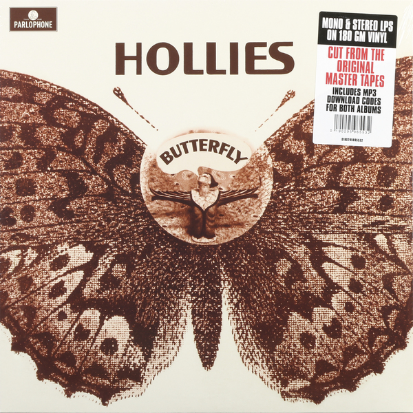 HOLLIES HOLLIES - BUTTERFLY (2 LP)Виниловая пластинка<br><br>