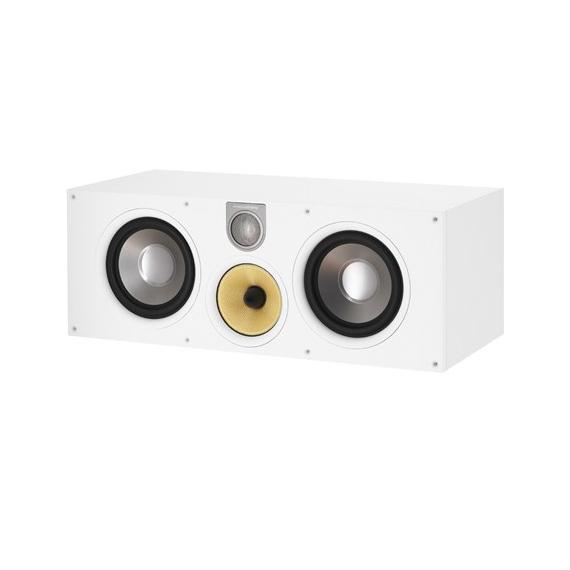 Центральный громкоговоритель B&W HTM61 S2 White акустика центрального канала heco music style center 2 piano white ash decor white