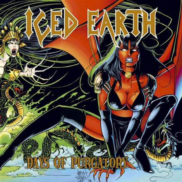 ICED EARTH ICED EARTH - DAYS OF PURGATORY (3 LP) c y k hd 1080p vga 3 6 male to male cable for projector monitor yellow white