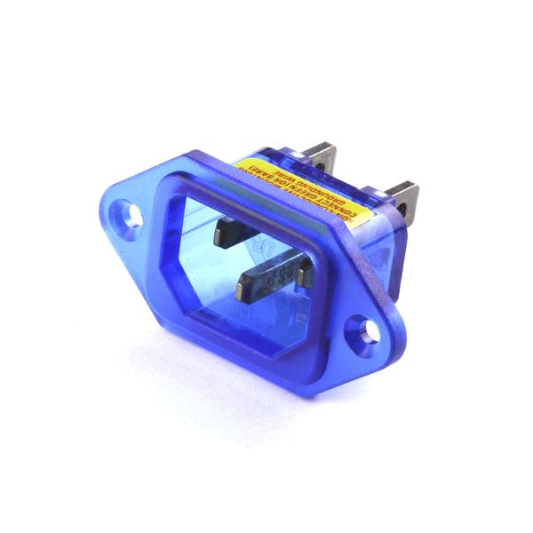 Сетевой разъем IeGO R301 (Ag) Blue