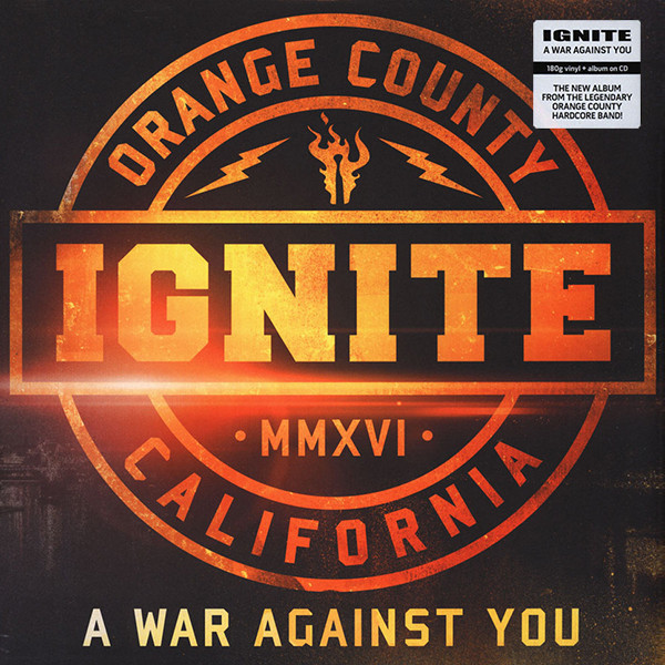 Ignite Ignite - A War Against You (lp + Cd) penalty shootout after a 22 draw against 10man everton