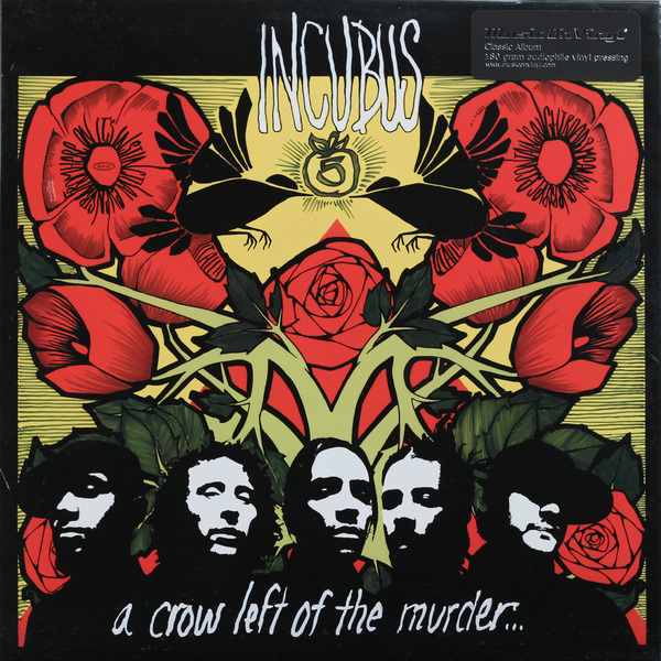 INCUBUS INCUBUS-A CROW LEFT OF THE MURDER (2 LP, 180 GR)Виниловая пластинка<br><br>