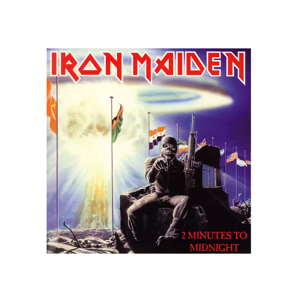 IRON MAIDEN IRON MAIDEN - 2 MINUTES TO MIDNIGHT (7 )