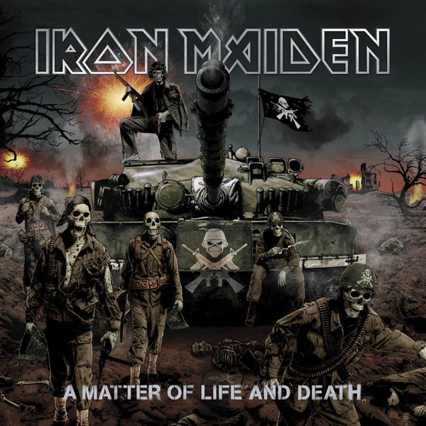 Iron Maiden Iron Maiden - A Matter Of Life And Death (2 Lp, 180 Gr) iron maiden the book of souls 3 lp
