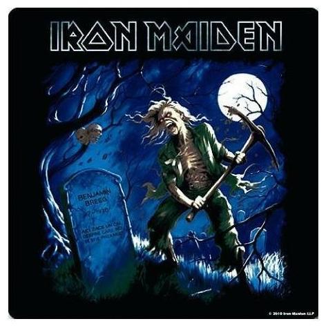 Подставка Iron Maiden - Benjamin BreegПодставка<br>Подставка на пробковой основе, размер 10 х 10 см.<br>