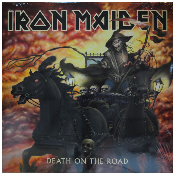 Iron Maiden Iron Maiden - Death On The Road (2 LP) iron maiden the book of souls 3 lp