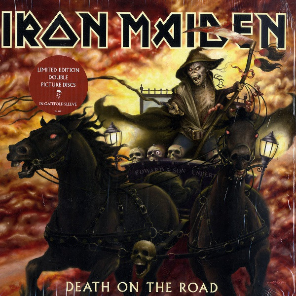 IRON MAIDEN IRON MAIDEN - DEATH ON THE ROAD (PICTURE DISC)