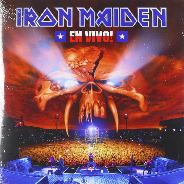 Iron Maiden Iron Maiden - En Vivo (3 LP) iron maiden the book of souls 3 lp