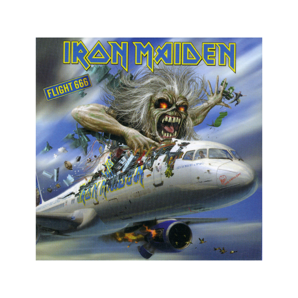 Магнит Iron Maiden - Flight 666