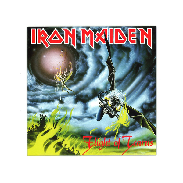 Iron Maiden Iron Maiden - Flight Of Icarus the flight of icarus