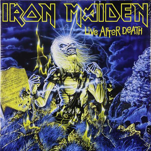 Iron Maiden Iron Maiden - Live After Death (2 LP) earth 2 society vol 4 life after death