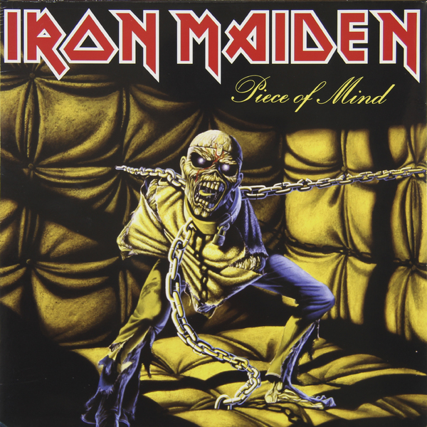 Iron Maiden Iron Maiden - Piece Of Mind свитшот print bar iron maiden piece of mind