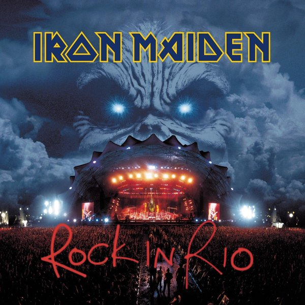 Iron Maiden Iron Maiden - Rock In Rio (3 Lp, 180 Gr) iron maiden the book of souls 3 lp
