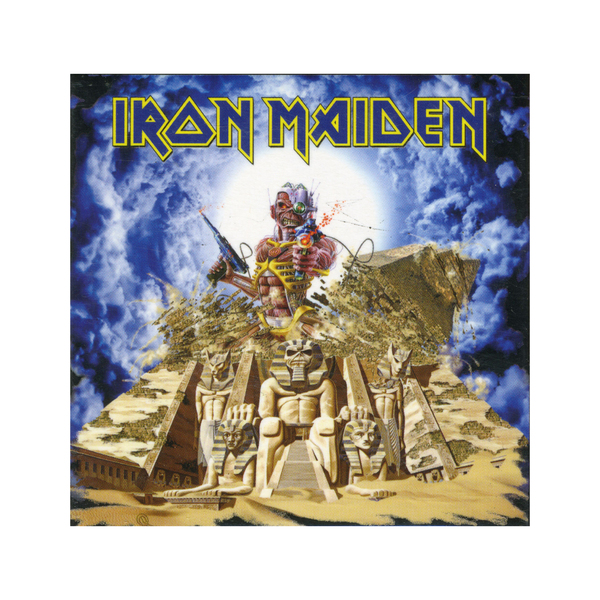Магнит Iron Maiden - Somewhere Back In Time