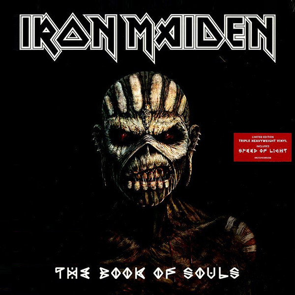 Iron Maiden Iron Maiden - The Book Of Souls (3 LP) riggs r library of souls