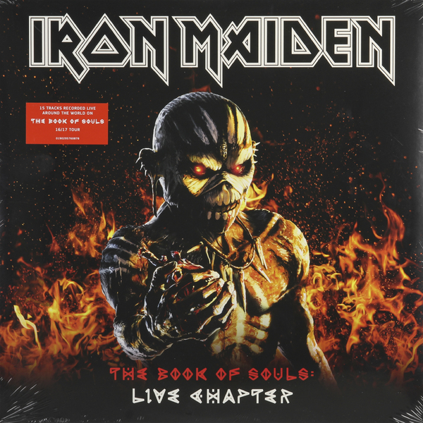 Iron Maiden Iron Maiden - The Book Of Souls Live (3 Lp, 180 Gr) iron maiden the book of souls 3 lp