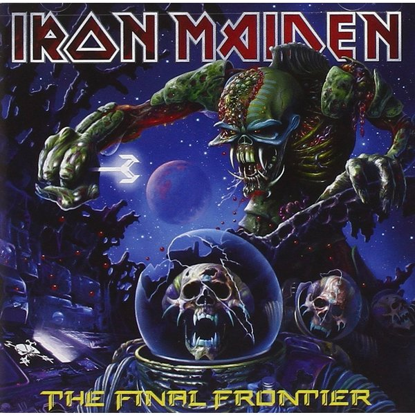 Iron Maiden Iron Maiden - The Final Frontier (2 LP) iron maiden the book of souls 3 lp