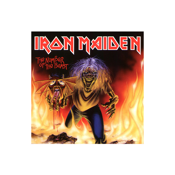 IRON MAIDEN IRON MAIDEN - THE NUMBER OF THE BEAST (7 )