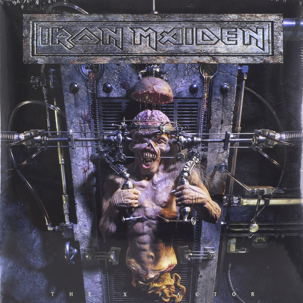 Iron Maiden Iron Maiden - The X Factor (2 LP) iron maiden the book of souls 3 lp
