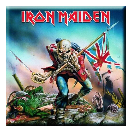 Магнит Iron Maiden - Trooper